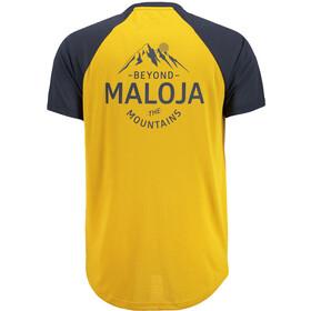 Maloja M's EhrlbachM. Short Sleeve Multisport Jersey Mustard